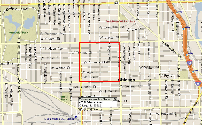 Ukrainian Village Walking Distance To Metra Wicker Park Chicago