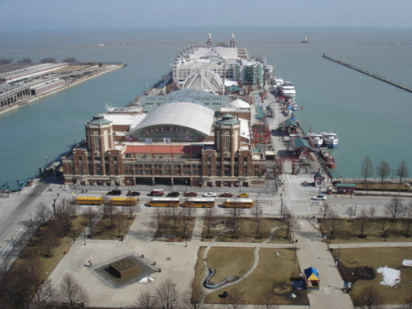 505 N Lake Shore Drive 2210's View of Navy Pier
