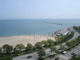 Lake View from 1040 N Lake Shore Drive
