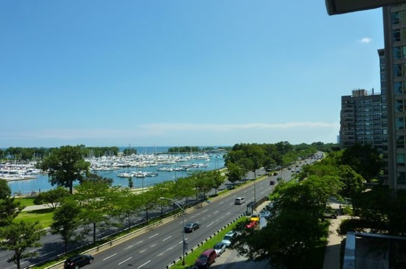 South views from the B tier of 3470 N Lake Shore Drive