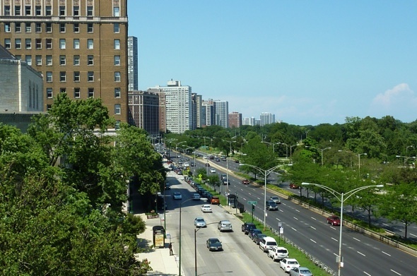 North views from the B tier of 3470 N Lake Shore Drive