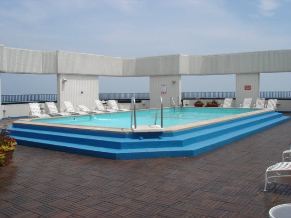 Outdoor Pool at 990 N Lake Shore Drive