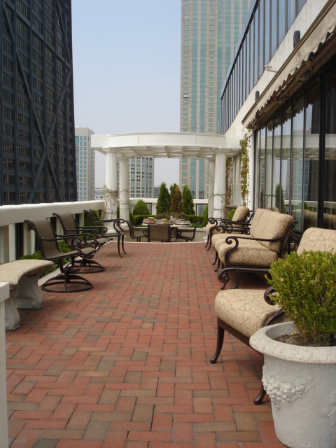 South Terrace of 200 E Delaware Penthouse