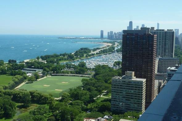 333 W Barry Balcony Views