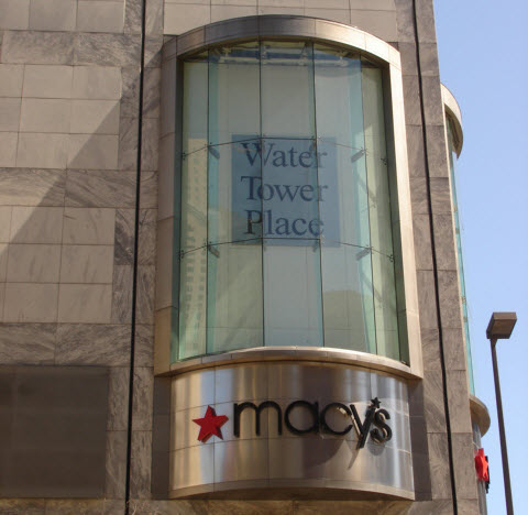 Chicago's Water Tower Place - 858 N Michigan Avenue, Chicago, IL 60611