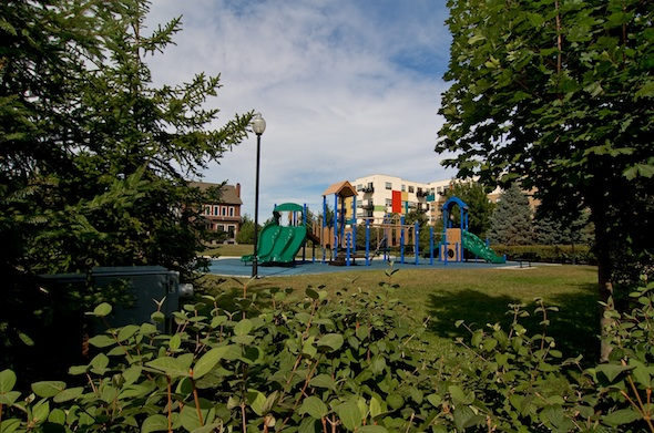 Hartland Park's Private Park & Playground