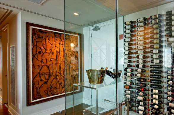 53A's Glassed Wine Room