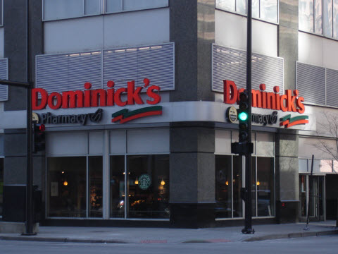 Dominick's Grocery Store in Streeterville