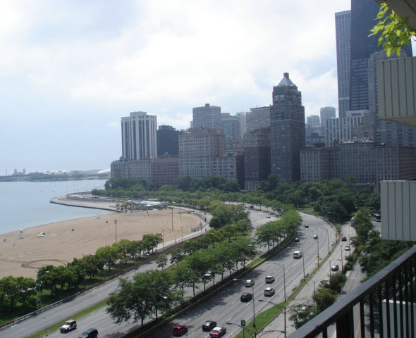 View of East Lake Shore Drive Condos & Co-op Apartments from 1212 N Lake Shore Drive
