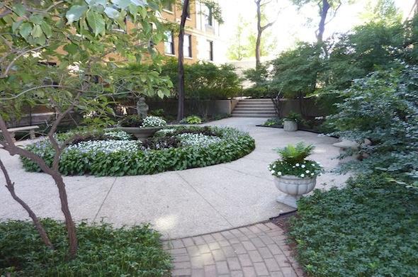 3740 Lake Shore Drive English Garden Entrance