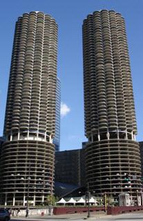 Marina City - Marina Towers