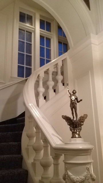 3314 N Lake Shore - Grand Lobby Staircase