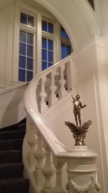 3314 N Lake Shore - Grand Lobby Staircase
