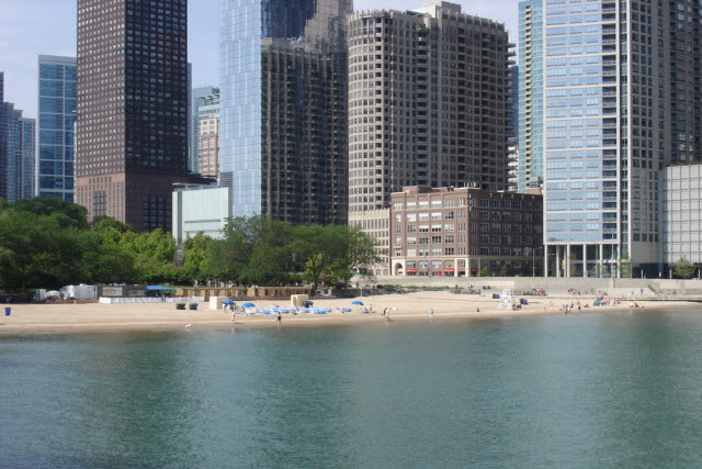 The Ohio Street Beach Photo