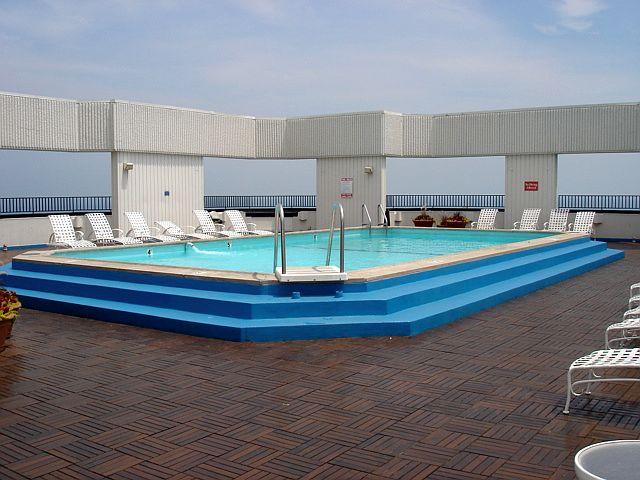 Outdoor Pool at 990 N Lake Shore Drive
